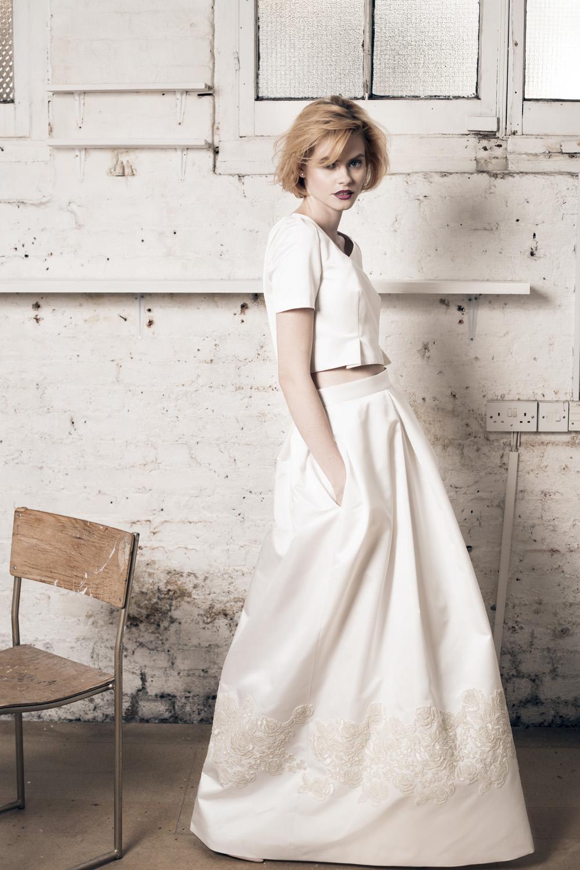 Alexa top, Paloma skirt