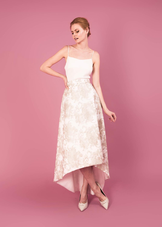 Gloria skirt, Cameron top