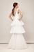 LOOK 1 CECILIA - ALESSIA B MODERN WEDDING DRESS FOR LONDON BRIDE