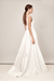 LOOK 2 ASHLEY - CHLOE B MODERN WEDDING DRESS FOR LONDON BRIDE