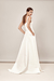LOOK 4 ISABELLE - MIA B MODERN WEDDING DRESS FOR LONDON BRIDE