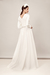 LOOK 16 ZOE - FELICITY B MODERN WEDDING DRESS FOR LONDON BRIDE